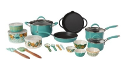 The Pioneer Woman 24-Pc. Cookware Set