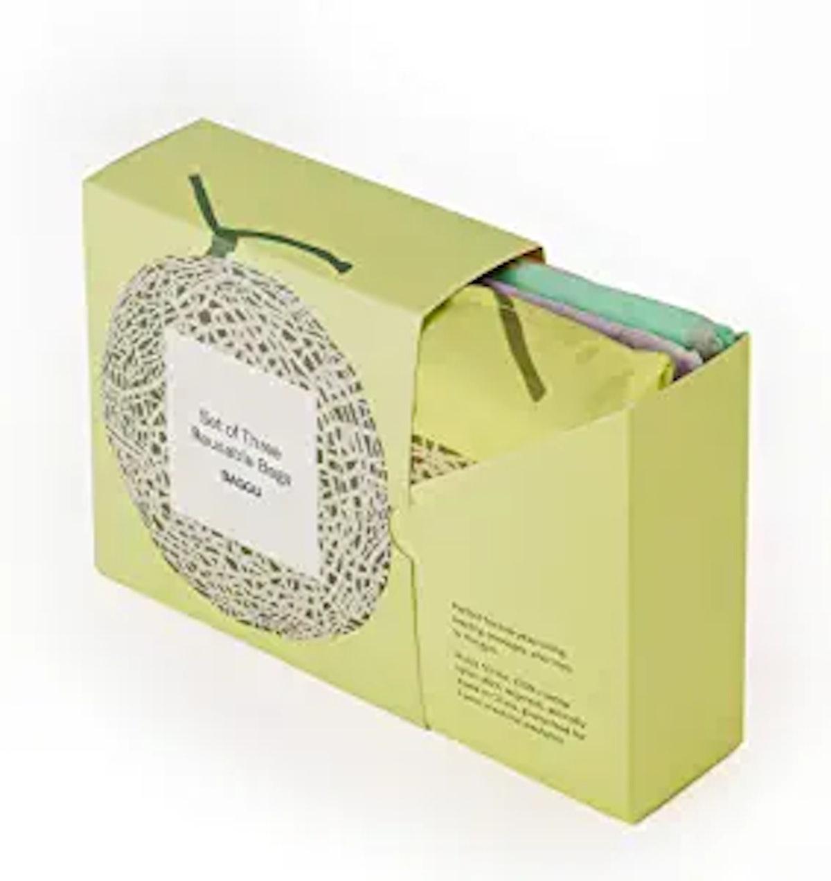 BAGGU Reusable Shopping Bag (3-Pack)