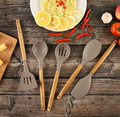 Miusco Silicone Cooking Utensils Set (Set of 5)