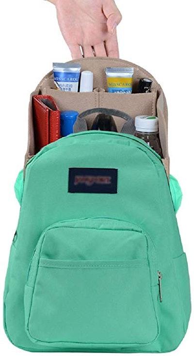 ZTUJO Felt Backpack Organizer Insert