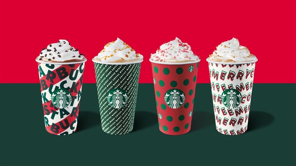 Starbucks' Nov. 21 Happy Hour Deal includes holiday beverages.
