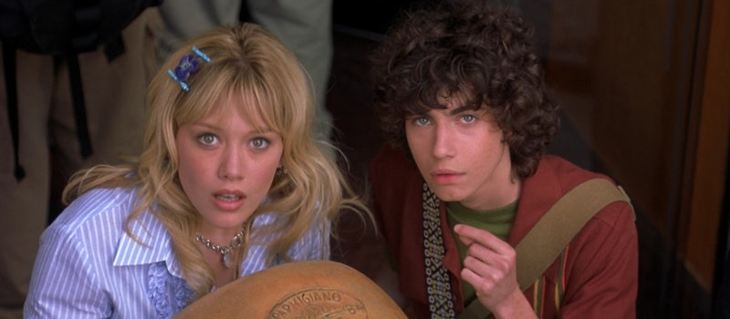 Hilary Duff, Adam Lambert in 'The Lizzie McGuire Movie'