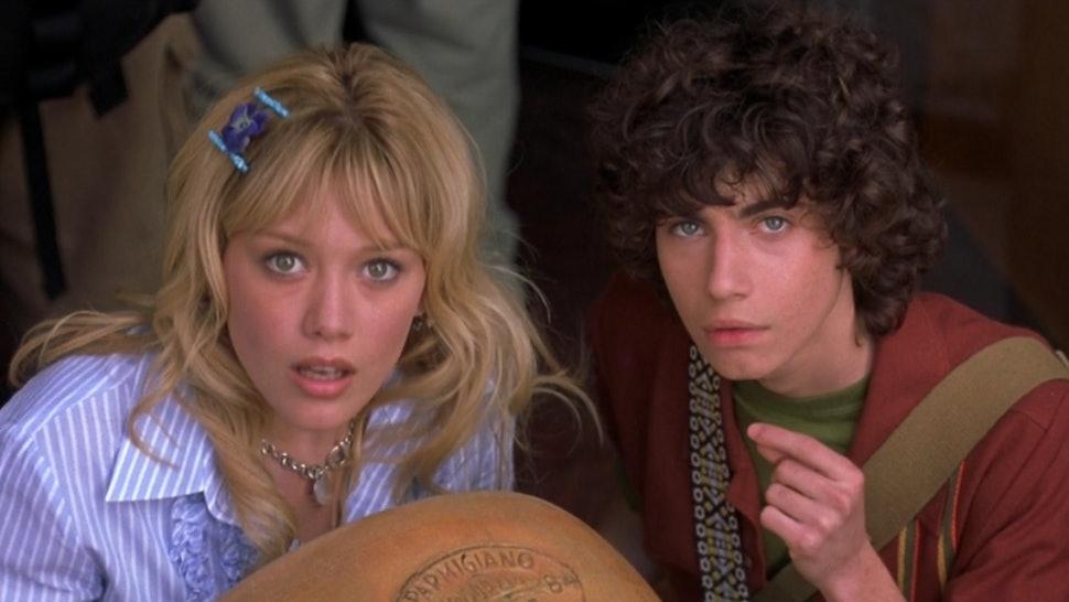 Hilary Duff, Adam Lambert in 'The Lizzie McGuire Movie'