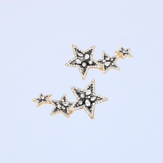 Nasty Gal Star Of The Show Embellished Drop Earrings