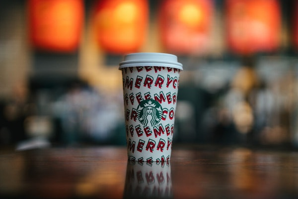 Starbucks' Nov. 21 Happy Hour Deal Includes applies to Grande or larger beverages.