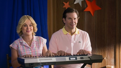 Amy Poehler and Bradley Cooper reprise their roles from Wet Hot American Summer.