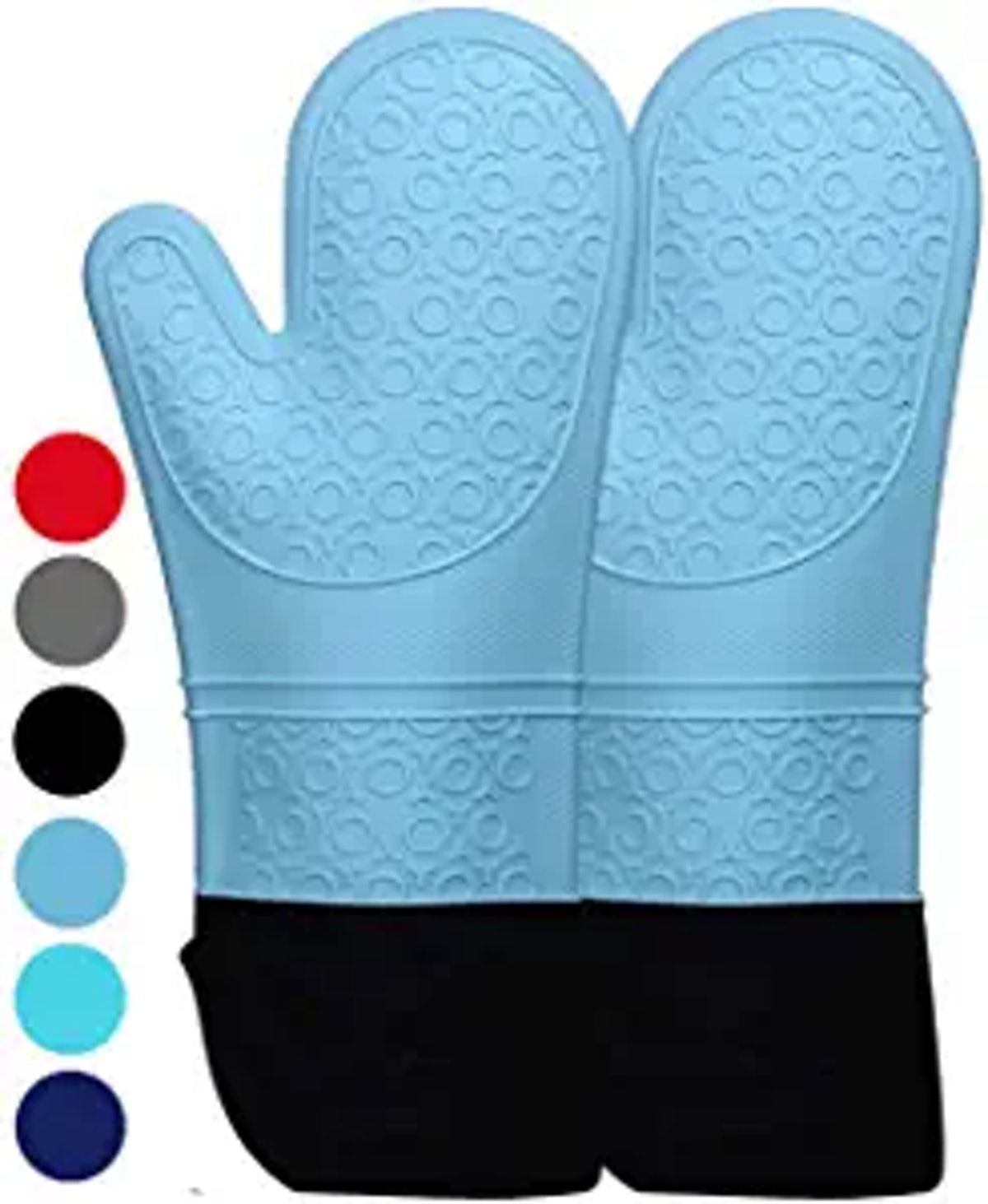 HOMWE Extra Long Professional Silicone Oven Mitt
