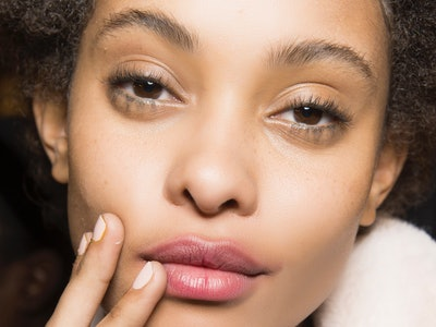 Use pink as an unexpected red nail polish alternative for the holidays