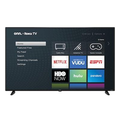 "onn. 58"" Class 4K Ultra HD (2160P) HDR10 Roku Smart LED TV"