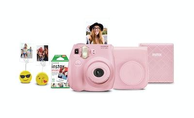 Fujifilm Instax Mini 7s Instant Camera w/ Matching Case, Film, Photo Album & Photo Holders