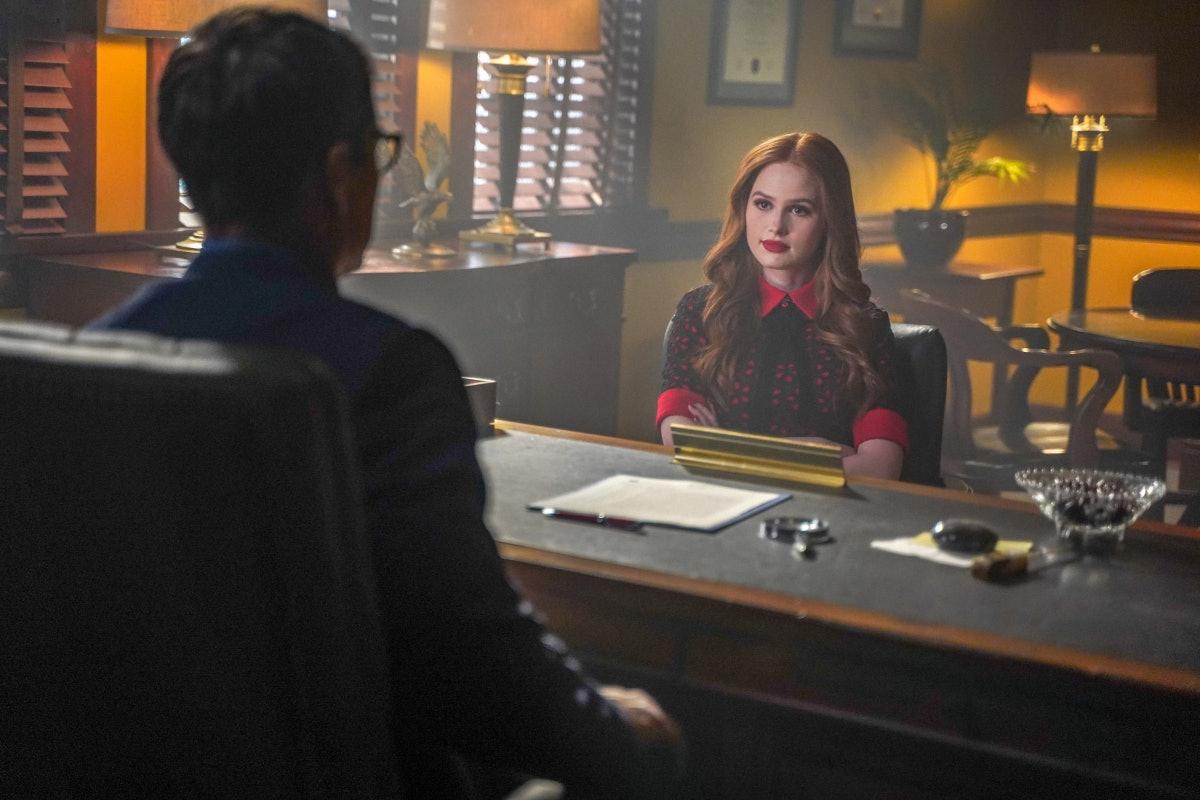 Cheryl Blossom has made an adversary of her new high school principal Mr. Honey on 'Riverdale.'