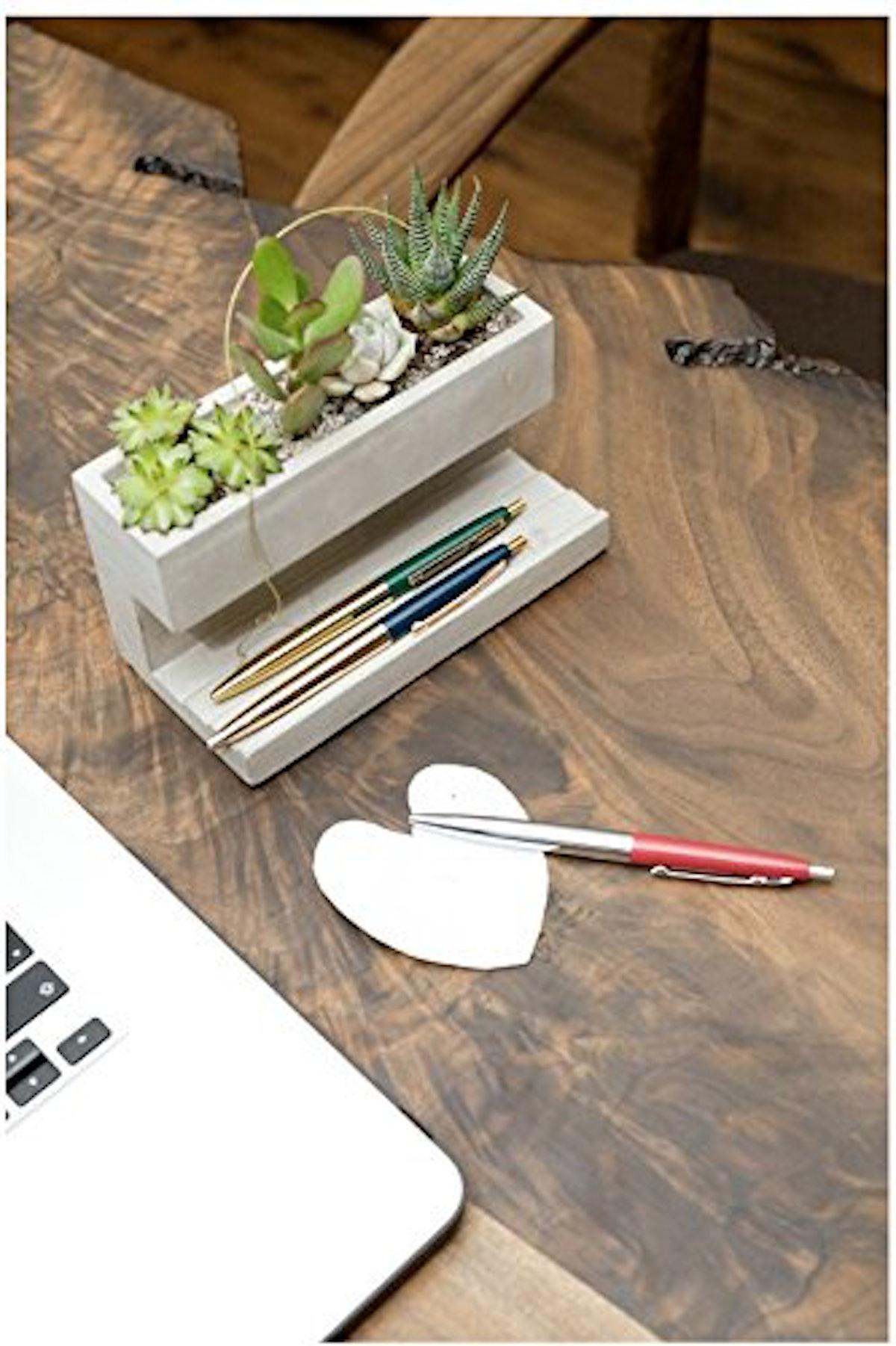 Kikkerland Desktop Planter Pen Holder