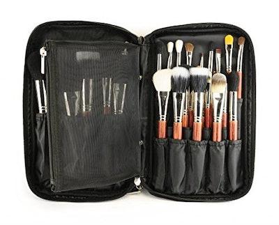Louise Maelys Makeup Brush Holder Organizer Bag