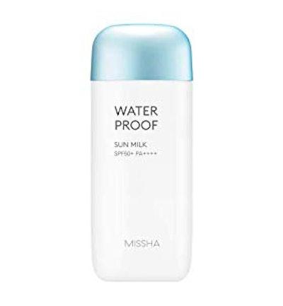 MISSHA All Around Safe Block Waterproof Sun Milk