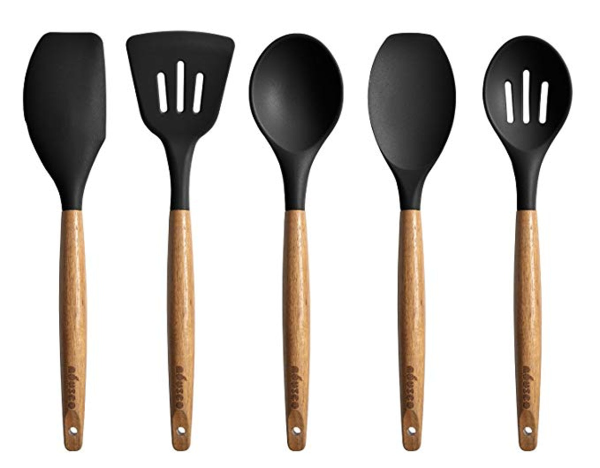Miusco Silicone Cooking Utensils Set (5 Pieces)