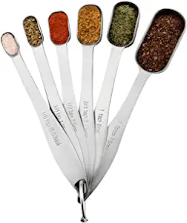 Spring Chef Stainless Steel Metal Measuring Spoons