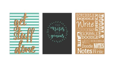 Hardback Quotes A5 Notebook