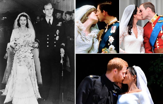 Looking through royal family wedding photos over the years provides a pretty fascinating look at the...