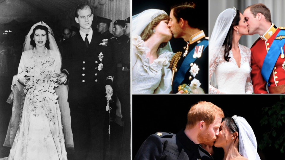 Looking through royal family wedding photos over the years provides a pretty fascinating look at the long history of marriage in the monarchy.