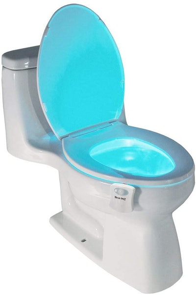 Best 007 Motion-Activated Toilet Night Light