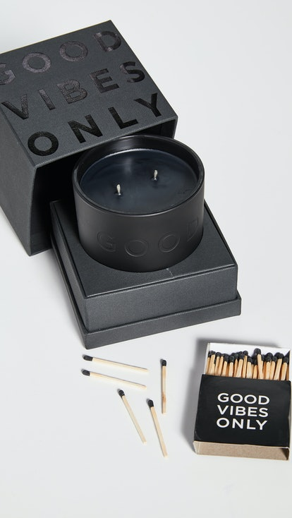 Good Vibes Only Deboss Candle