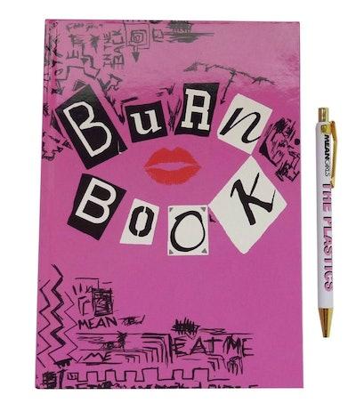 Mean Girls Burn Book Notebook