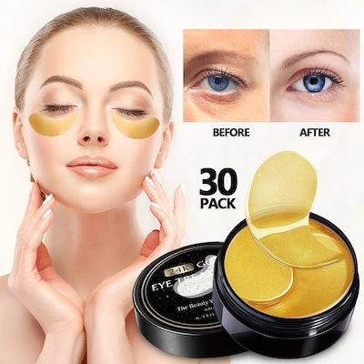 VANELC 24k Gold Eye Mask with Collagen