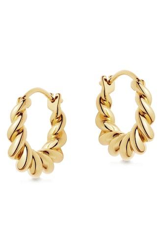 Mini Tidal Hoop Earrings
