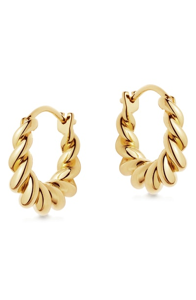 Mini Tidal Hoop Earrings