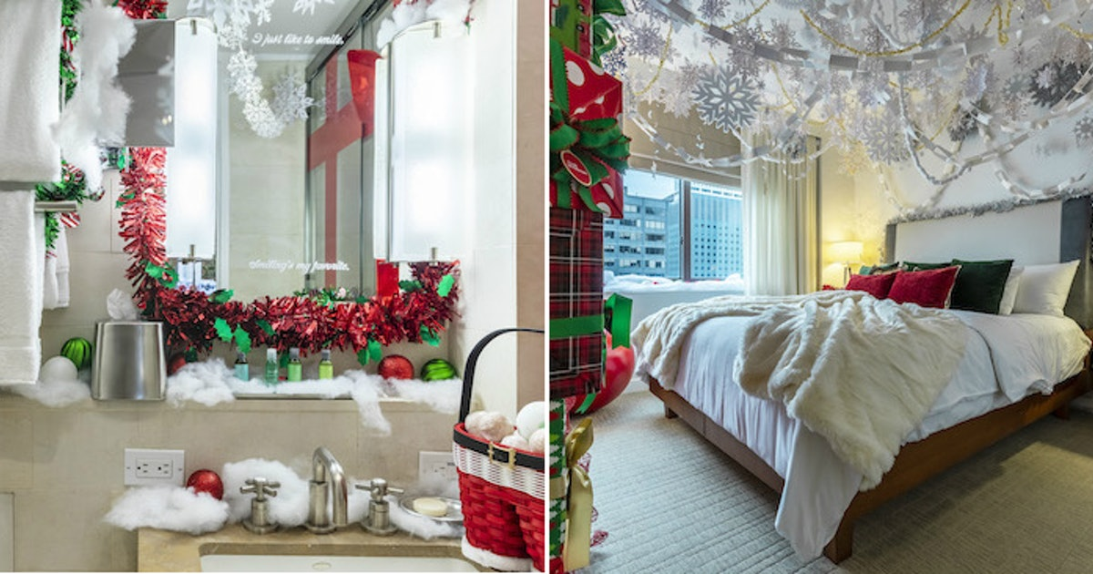 The 'Elf'-Themed Suite At Club Wyndham Midtown 45 Will Make You Nostalgic