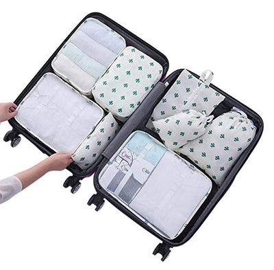 Belsmi Packing Cubes Travel Bags (Set of 8)