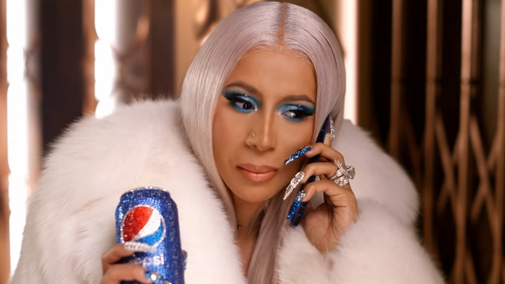 "Cardi B stars is ""A Cardi Carol"" Pepsi Ad"