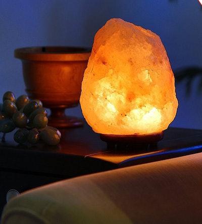 WBM Himalayan Glow Natural White Salt Lamp Night Light
