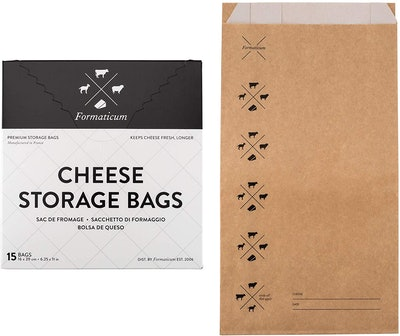 Formaticum Cheese Storage Bags (Pack Of 15)