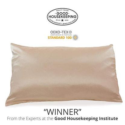 Fishers Finery 25mm 100% Pure Mulberry Silk Pillowcase