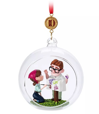 Carl and Ellie Ornament