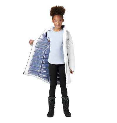 Girls' Disney Elsa Long Down Jacket