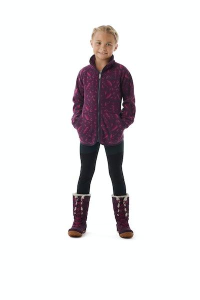 Girls' Disney Anna Full Zip Fleece