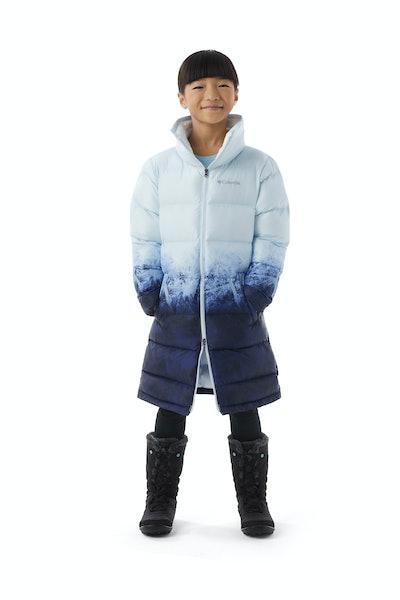 Girls' Disney Elsa Long Puffer Jacket