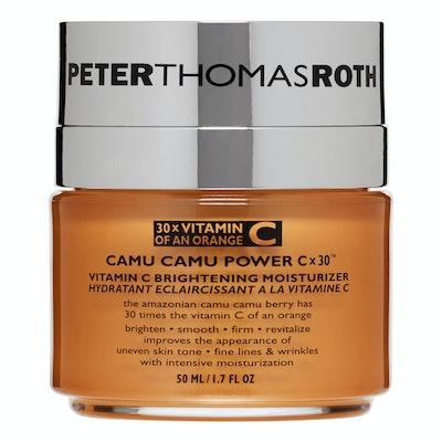 Peter Thomas Roth Camu Camu Power C x 30 Vitamin C Brightening Face Moisturizer, 1.7 Oz