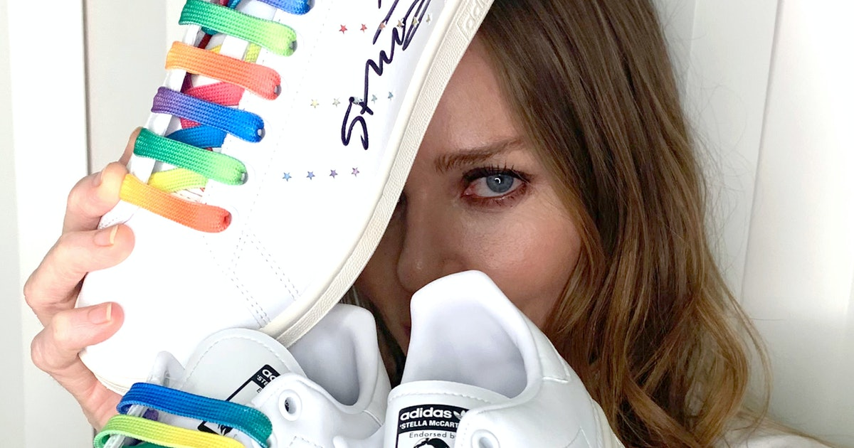 Stella McCartney's Second Adidas Collection Is Another Fresh Take On Classic Stan Smiths