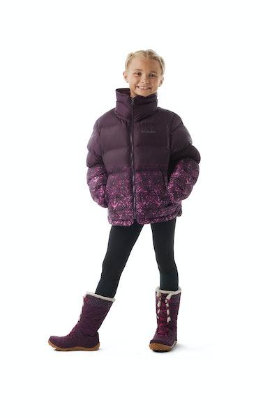 Girls' Disney Anna Puffer Jacket