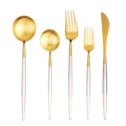 Artthome 20-Piece 18/10 Stainless Steel Flatware