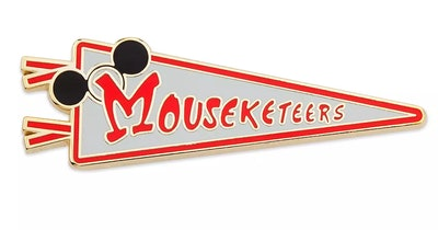Mouseketeers Pennant Pin