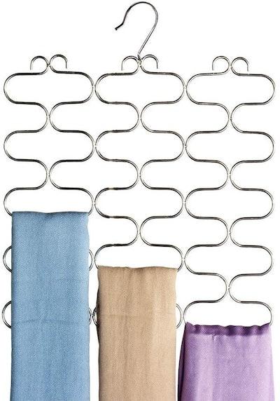 DecoBros Supreme 23 Loop Scarf/Belt/Tie Organizer Hanger Holder
