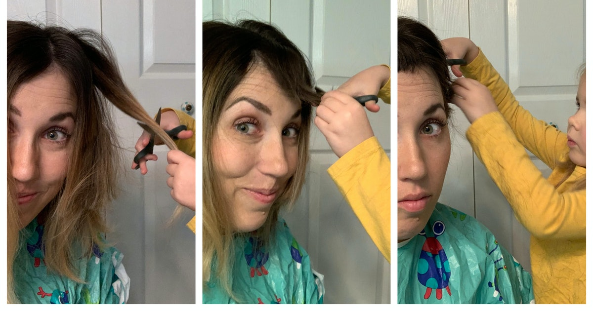 How To Have Your Toddler Cut Your Hair When You've Got Cancer