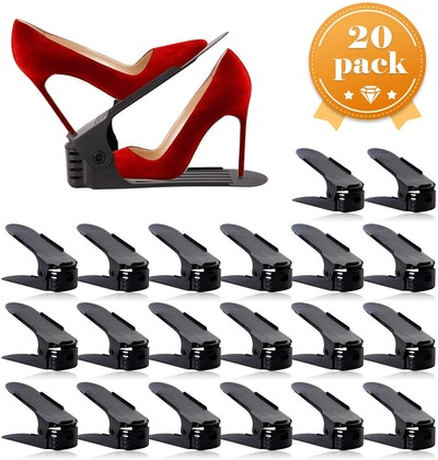 AQUAPRO Adjustable Shoe Stacker (Set of 20)