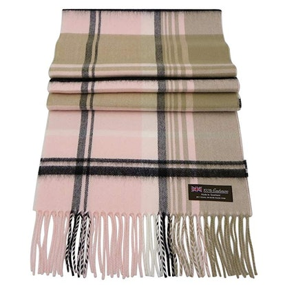 Rosemarie Collections 100% Cashmere Winter Scarf