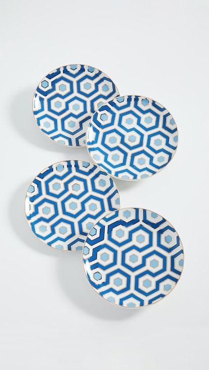 Newport Canape Plate Set