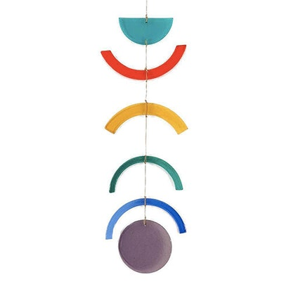 Fused Rainbow Offering Wall Hanging